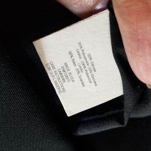 Zac Posen Dresses - Zac Posen Black Viscose Cap Sleeve Cocktail Dress